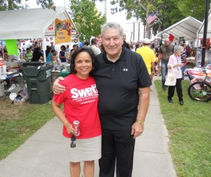 Senator DAllesandro at Latino Festival